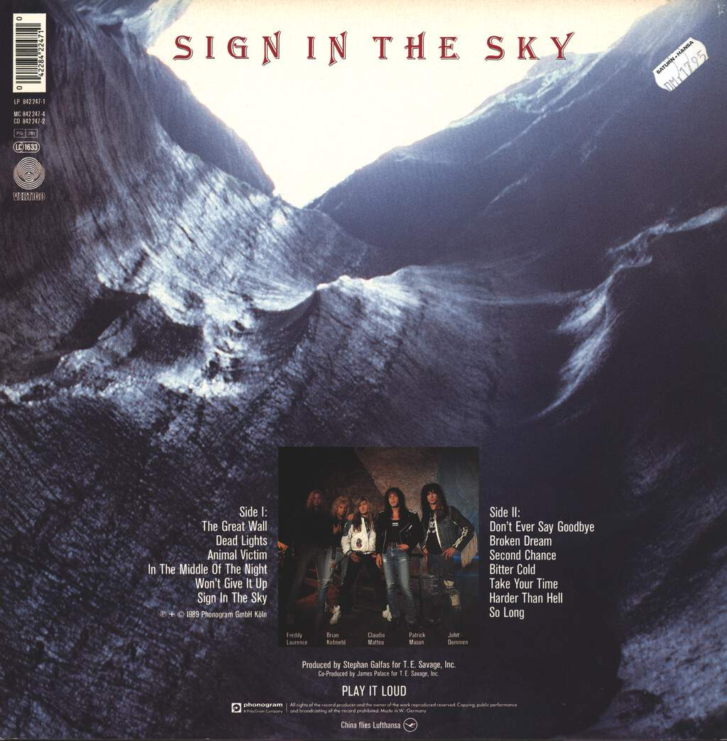 China: Sign In The Sky, LP (Vinyl)