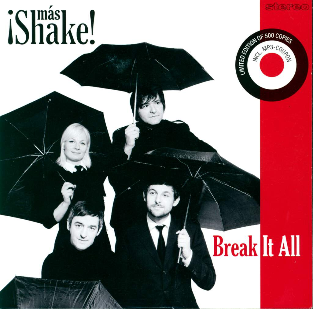 "¡Más Shake!: Break It All, 7"" Single (Vinyl)"