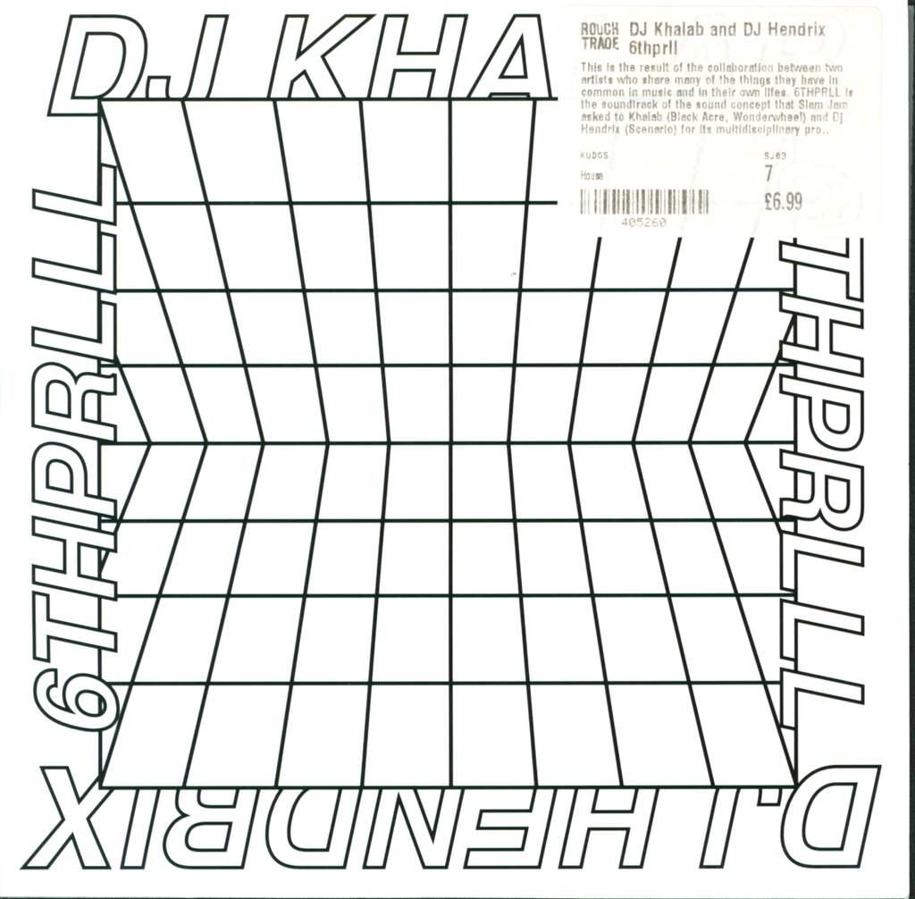 "DJ Khalab: 6THPRLL, 7"" Single (Vinyl)"