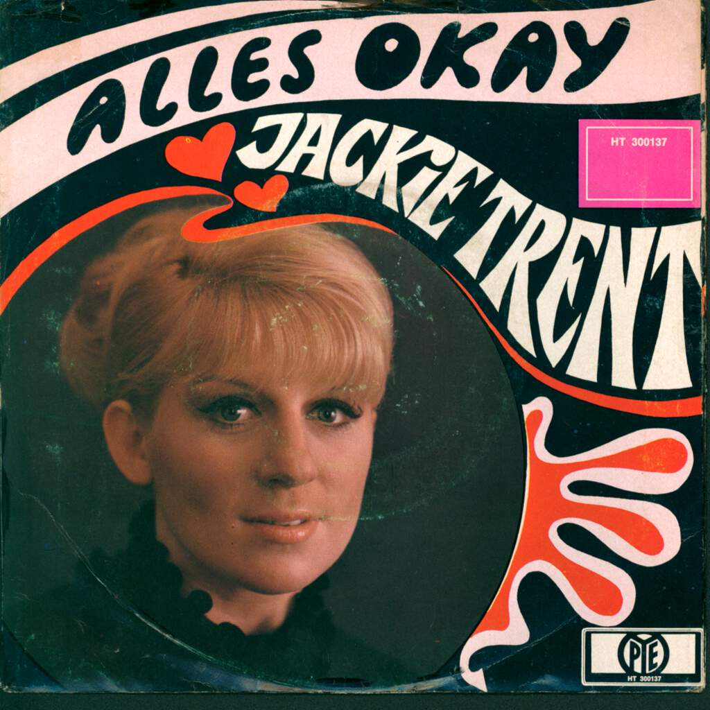"Jackie Trent: Bye Bye My Love / Alles Okay, 7"" Single (Vinyl)"