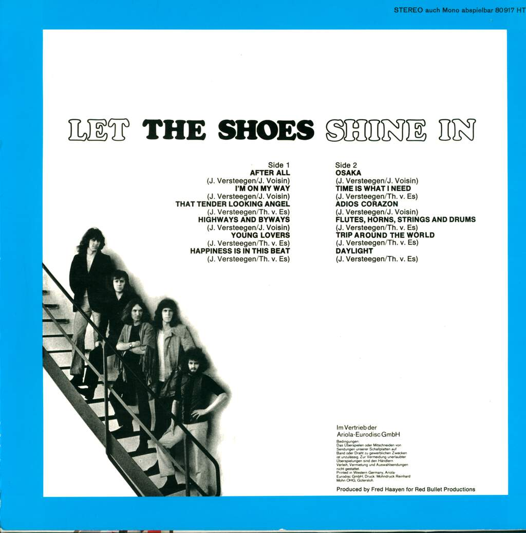 The Shoes: Let The Shoes Shine In, LP (Vinyl)