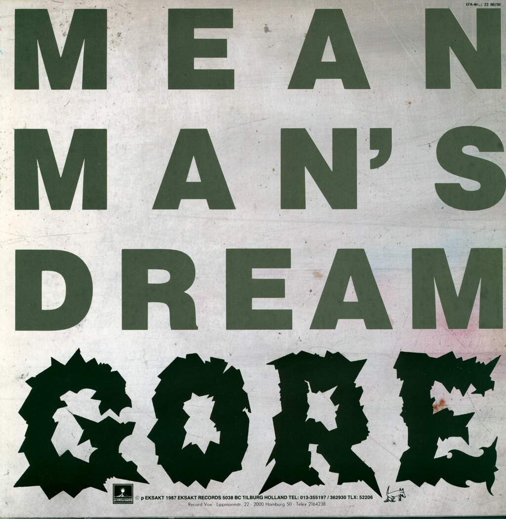 Gore: Mean Man's Dream, LP (Vinyl)