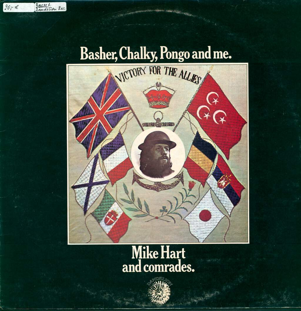 Mike Hart: Basher, Chalky, Pongo And Me., LP (Vinyl)