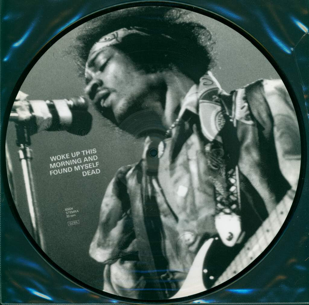 Jimi Hendrix: Woke Up This Morning And Found Myself Dead, LP (Vinyl)