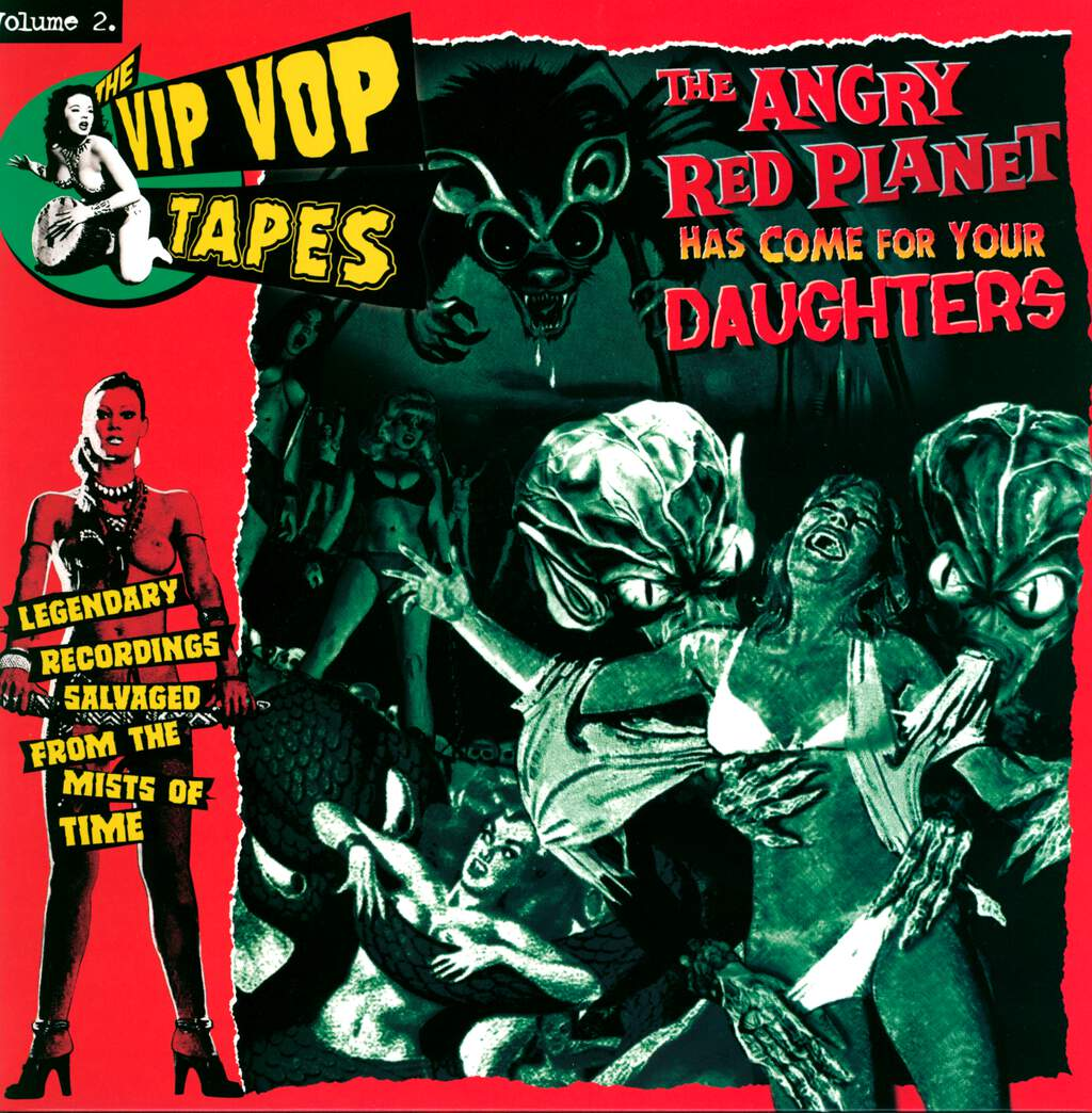 Various: The Vip Vop Tapes Vol. 2 - The Angry Red Planet Has Come For Your Daughters, LP (Vinyl)