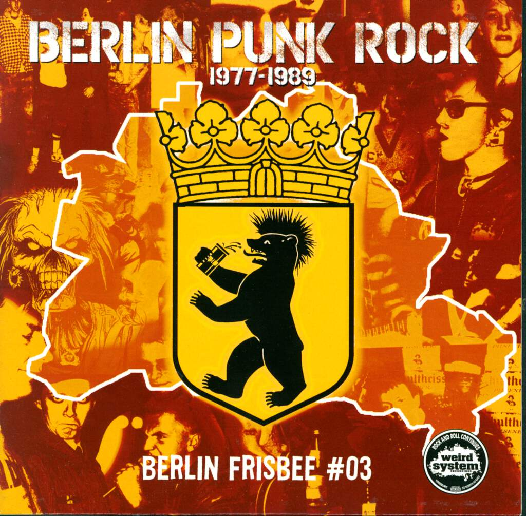 "Various: Berlin Frisbee #03, 7"" Single (Vinyl)"