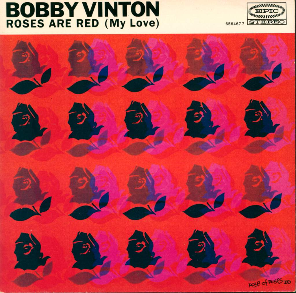 "Bobby Vinton: Roses Are Red (My Love) / Ramblin' Rose, 7"" Single (Vinyl)"