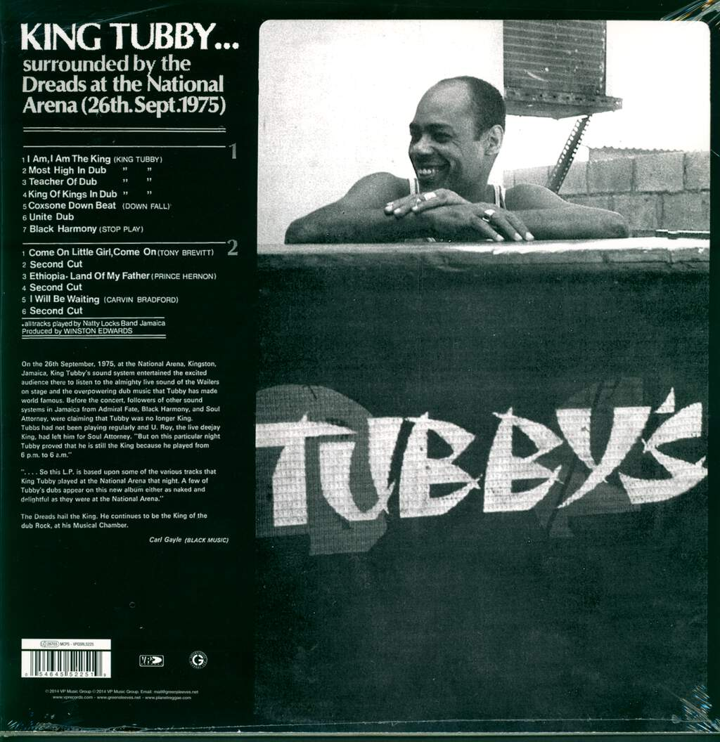 King Tubby: Surrounded By The Dreads At The National Arena 26th. September 1975, LP (Vinyl)