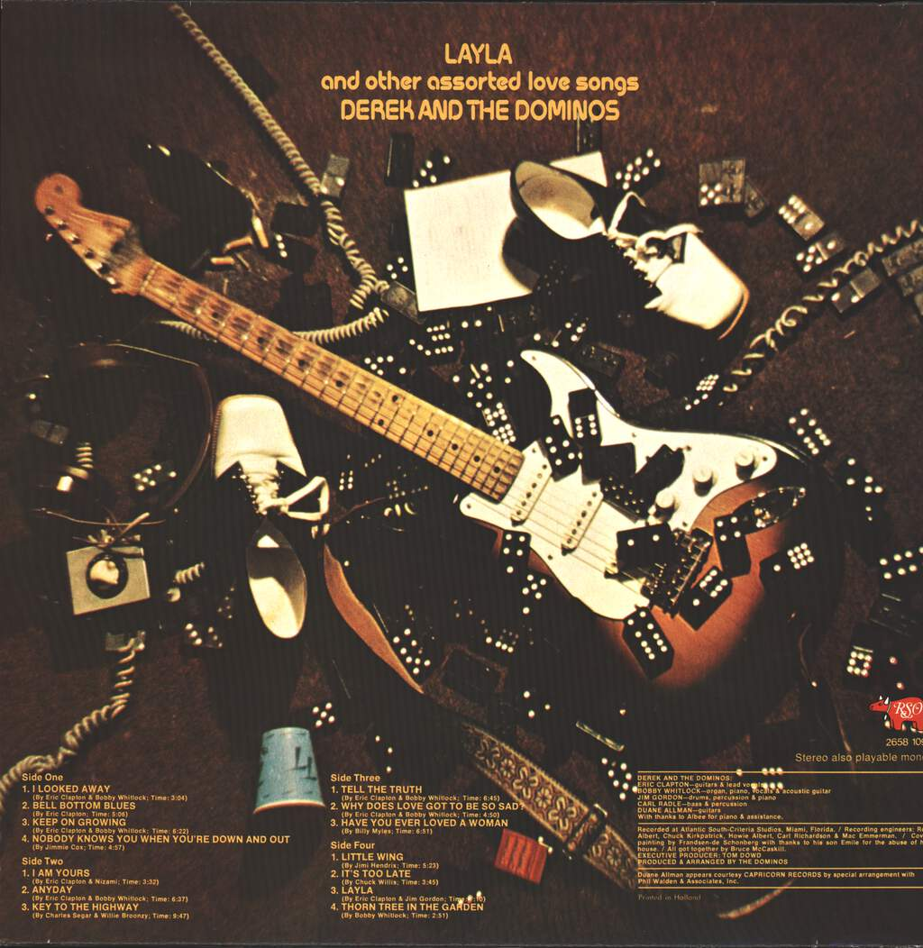 Derek & The Dominos: Layla And Other Assorted Love Songs, LP (Vinyl)