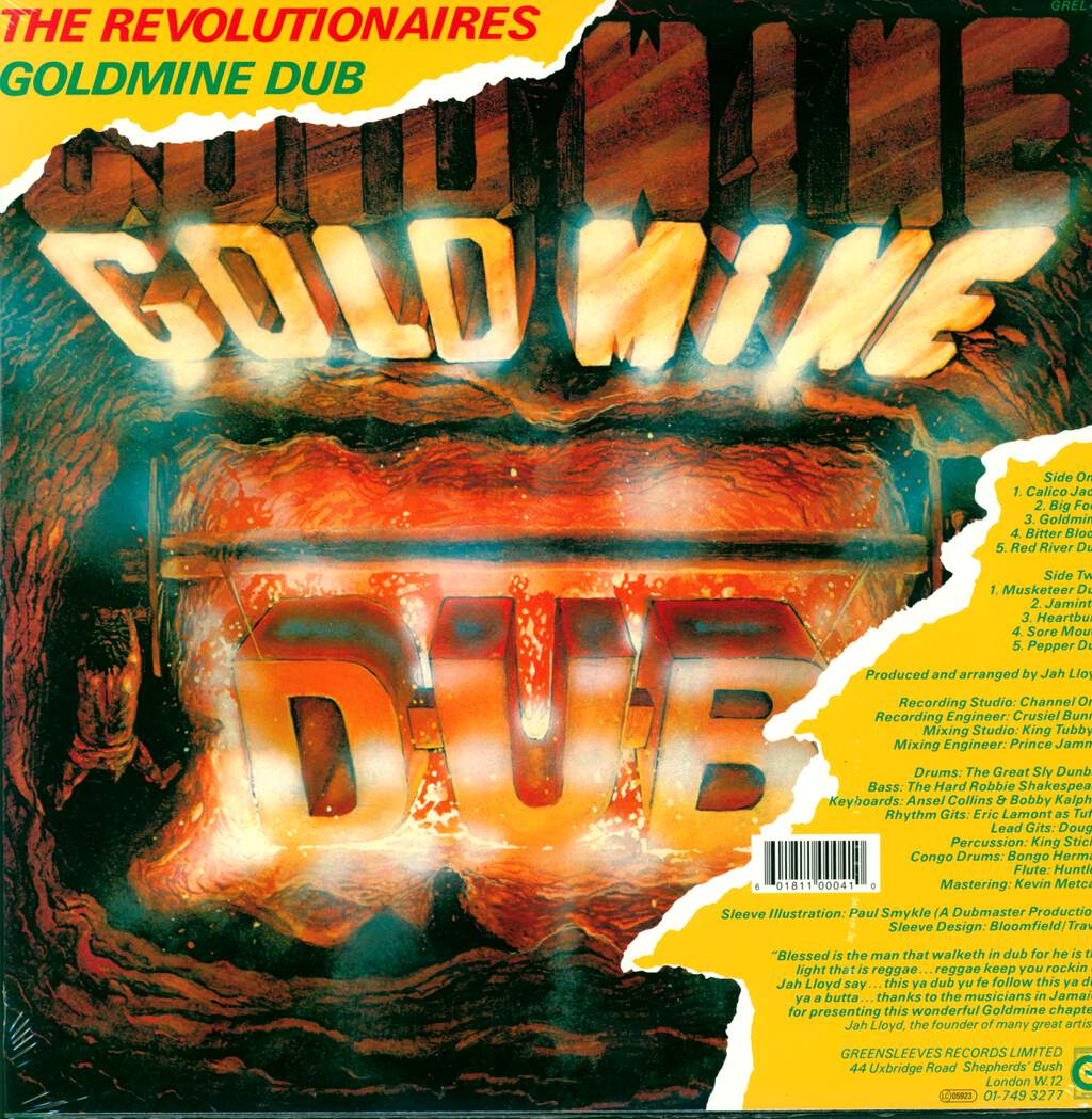 The Revolutionaries: Goldmine Dub, LP (Vinyl)