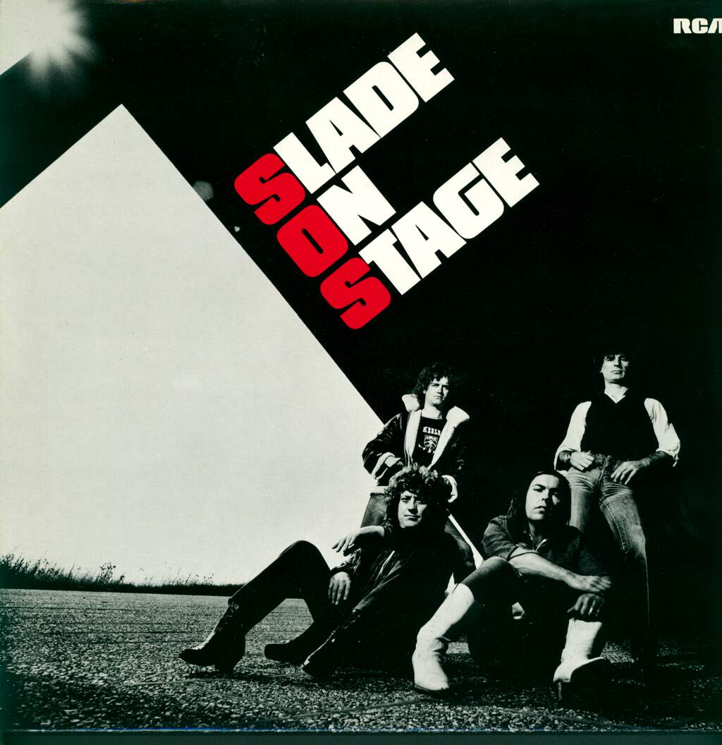 Slade: Slade On Stage, LP (Vinyl)