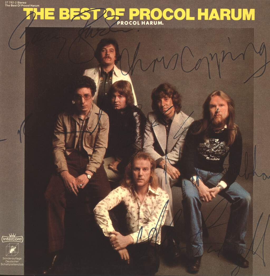 Procol Harum: The Best Of Procol Harum, LP (Vinyl)