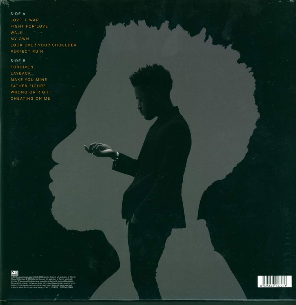 Kwabs: Love + War, LP (Vinyl)
