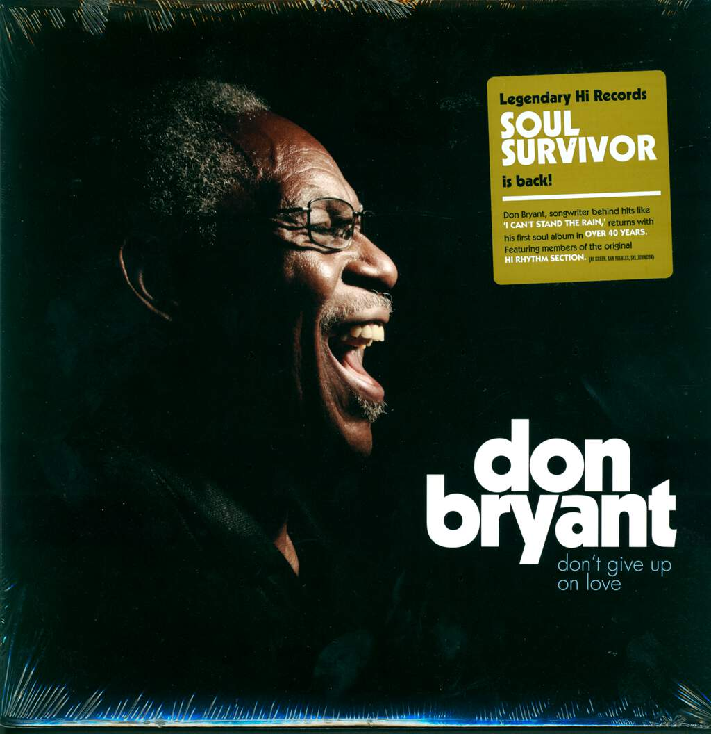 Don Bryant: Don't Give Up on Love, LP (Vinyl)