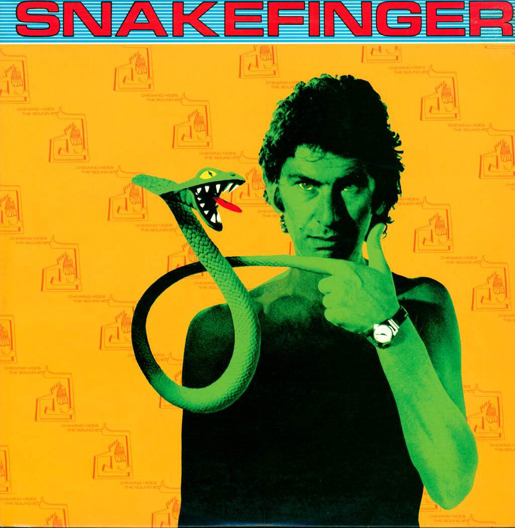 Snakefinger: Chewing Hides The Sound, LP (Vinyl)