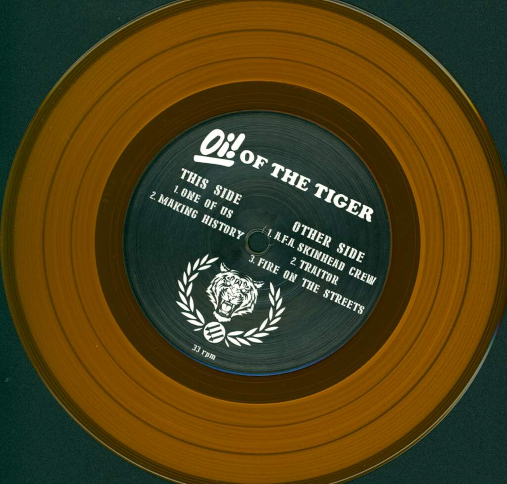 "Oi! Of The Tiger: One Of Us, 7"" Single (Vinyl)"