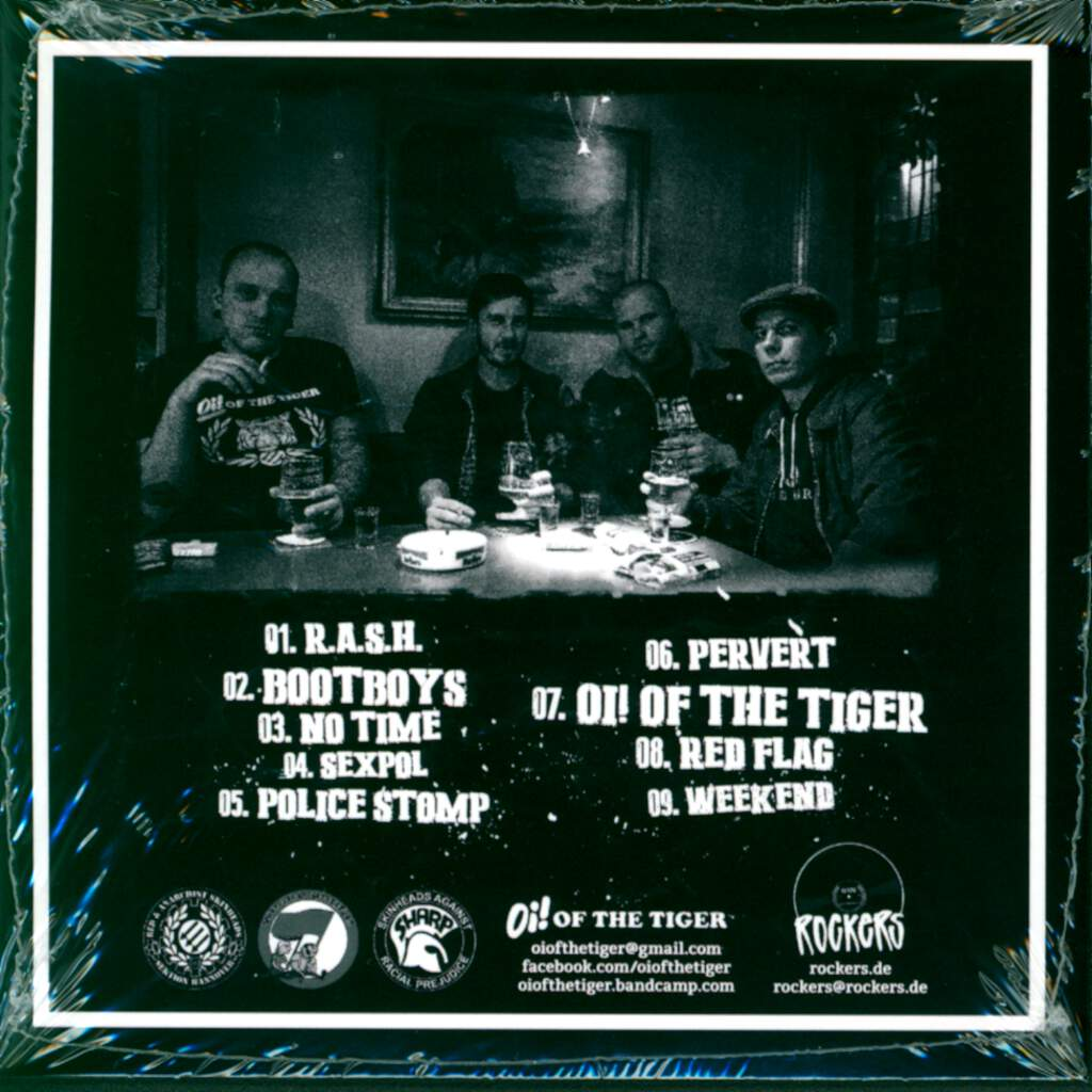 Oi! Of The Tiger: R.A.S.H., CD