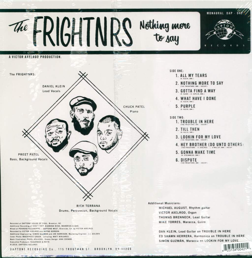 The Frightnrs: Nothing More To Say, LP (Vinyl)