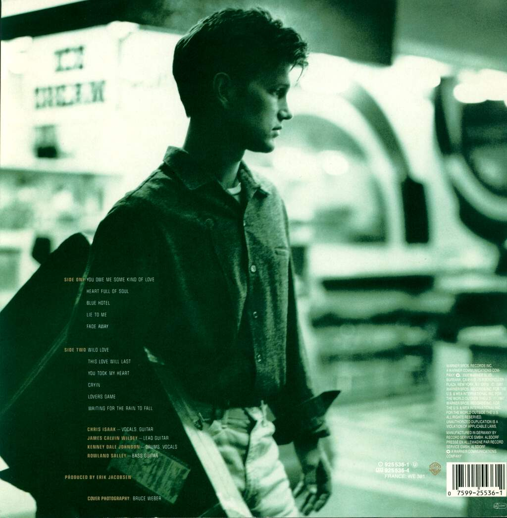 Chris Isaak: Chris Isaak, LP (Vinyl)
