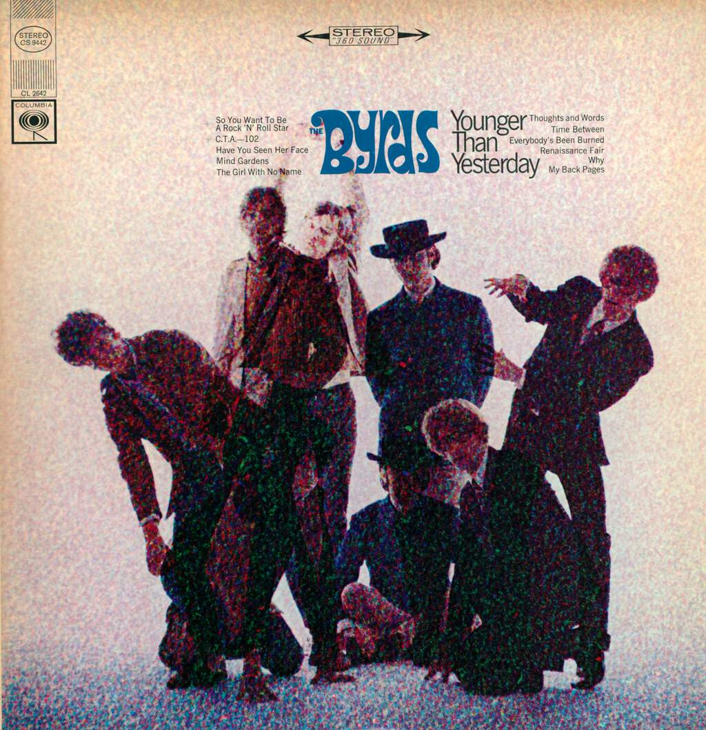 The Byrds: Younger Than Yesterday, LP (Vinyl)