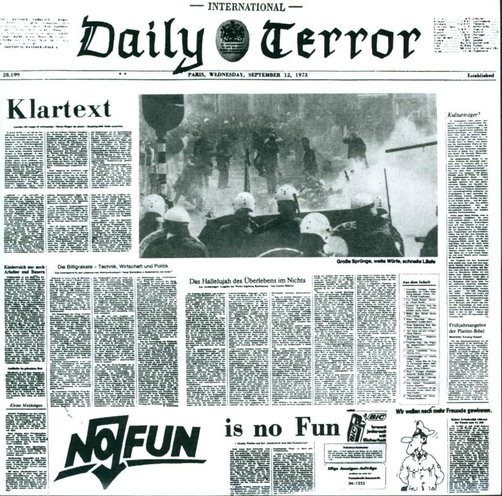 "Daily Terror: Klartext, 7"" Single (Vinyl)"