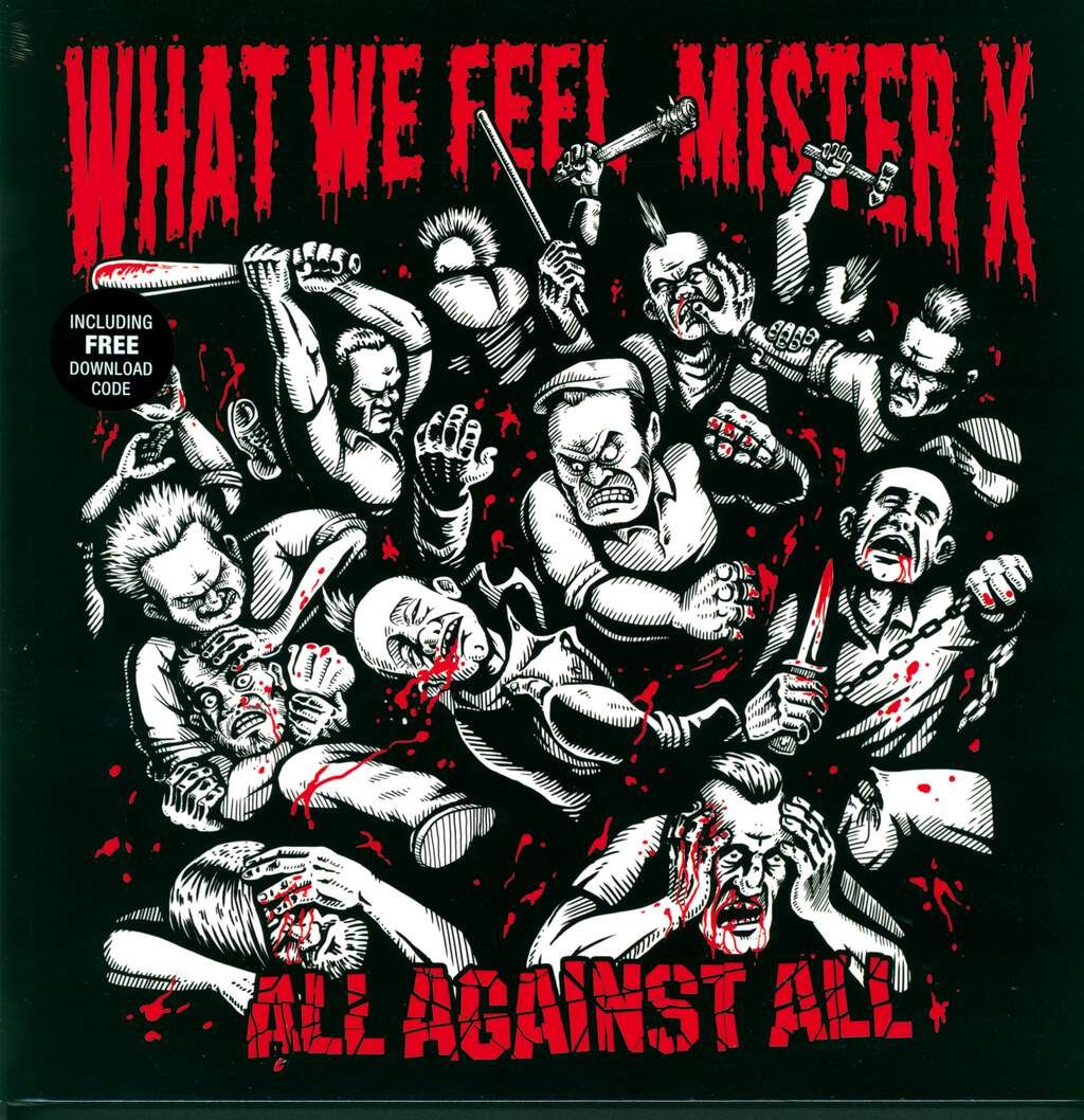 What We Feel: All Against All, 3×LP (Vinyl)