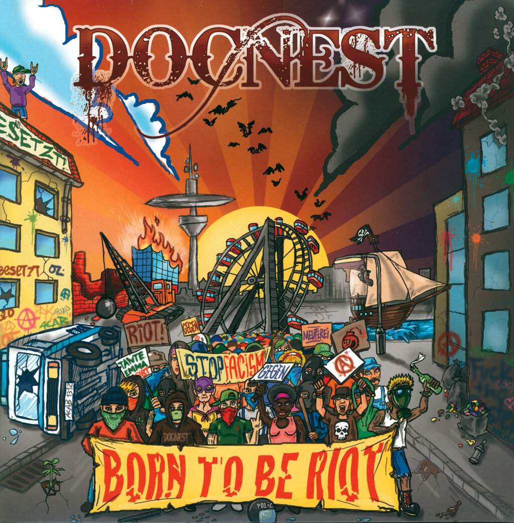 DocNest: Born To Be Riot, LP (Vinyl)