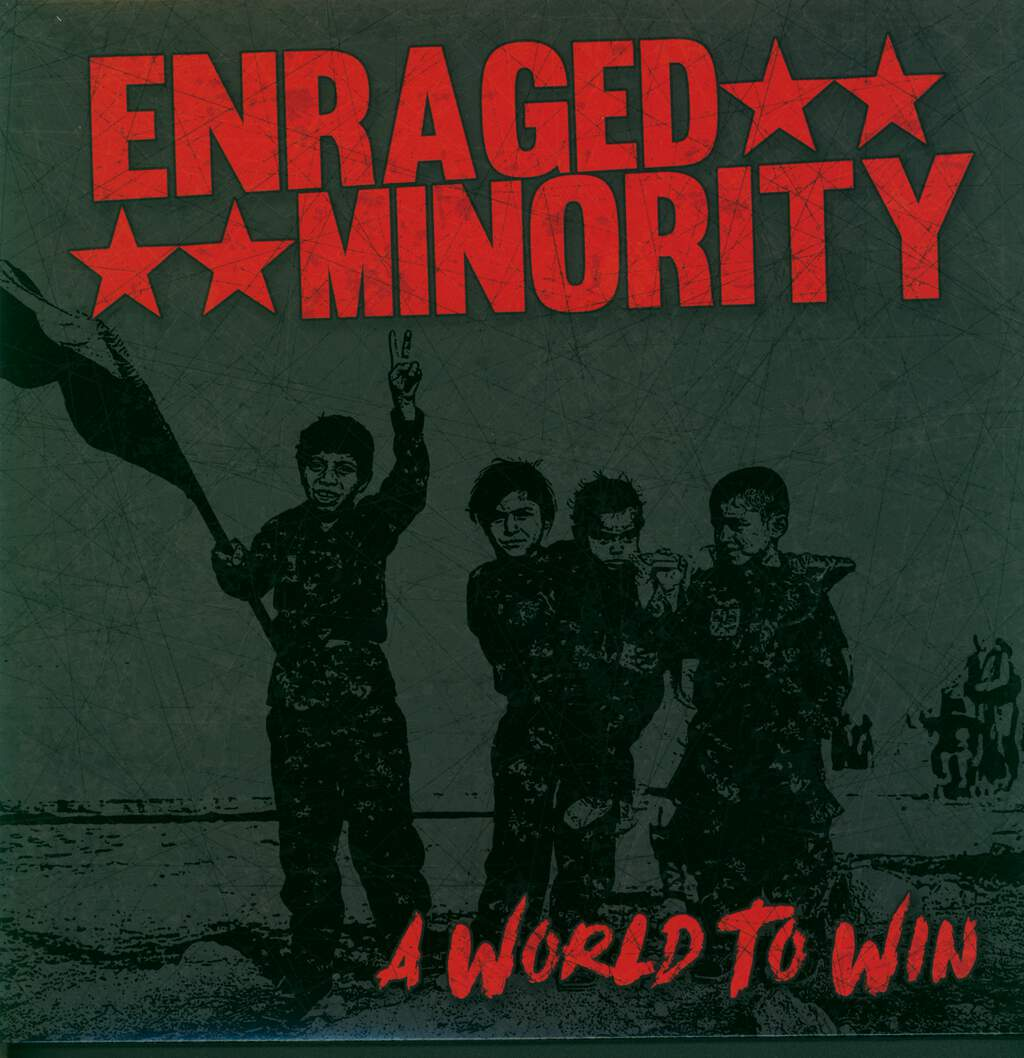 Enraged Minority: A World To Win, LP (Vinyl)