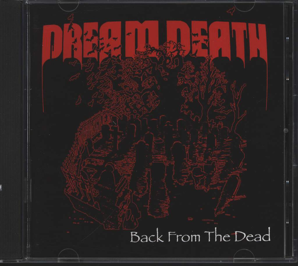 Dream Death: Back From The Dead, CD