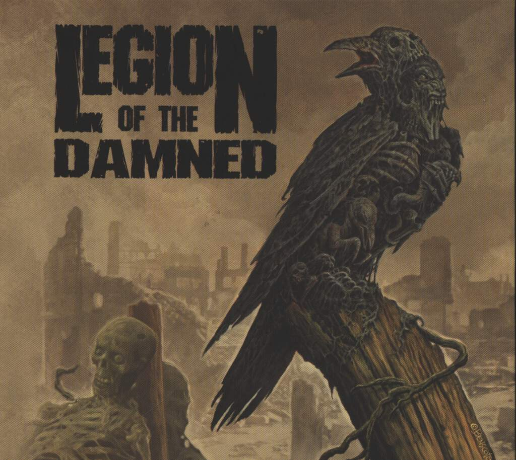 Legion Of The Damned: Ravenous Plague, CD