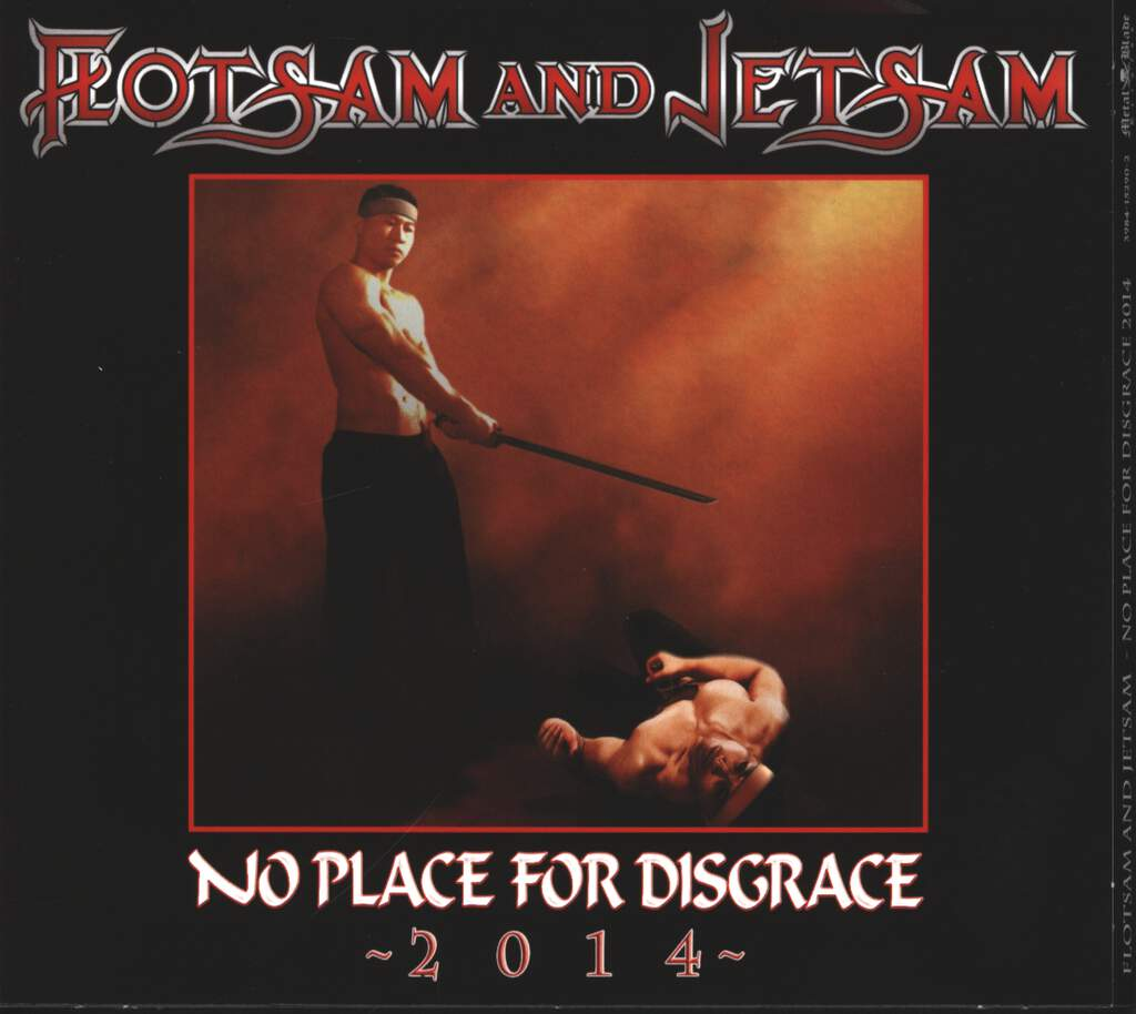 Flotsam and Jetsam: No Place For Disgrace 2014, CD