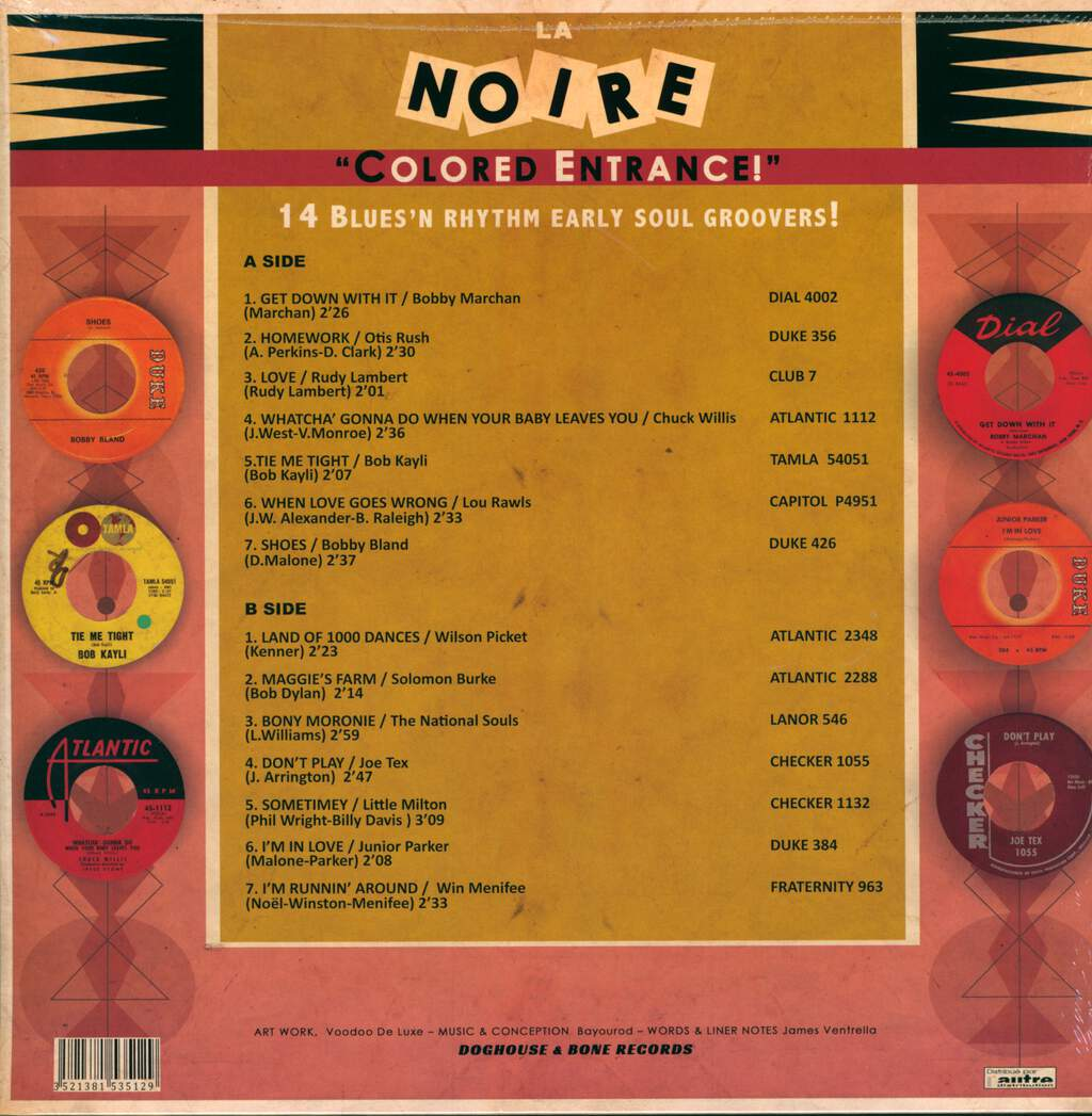 "Various: La Noire Vol.6 ""Colored Entrance!"", LP (Vinyl)"