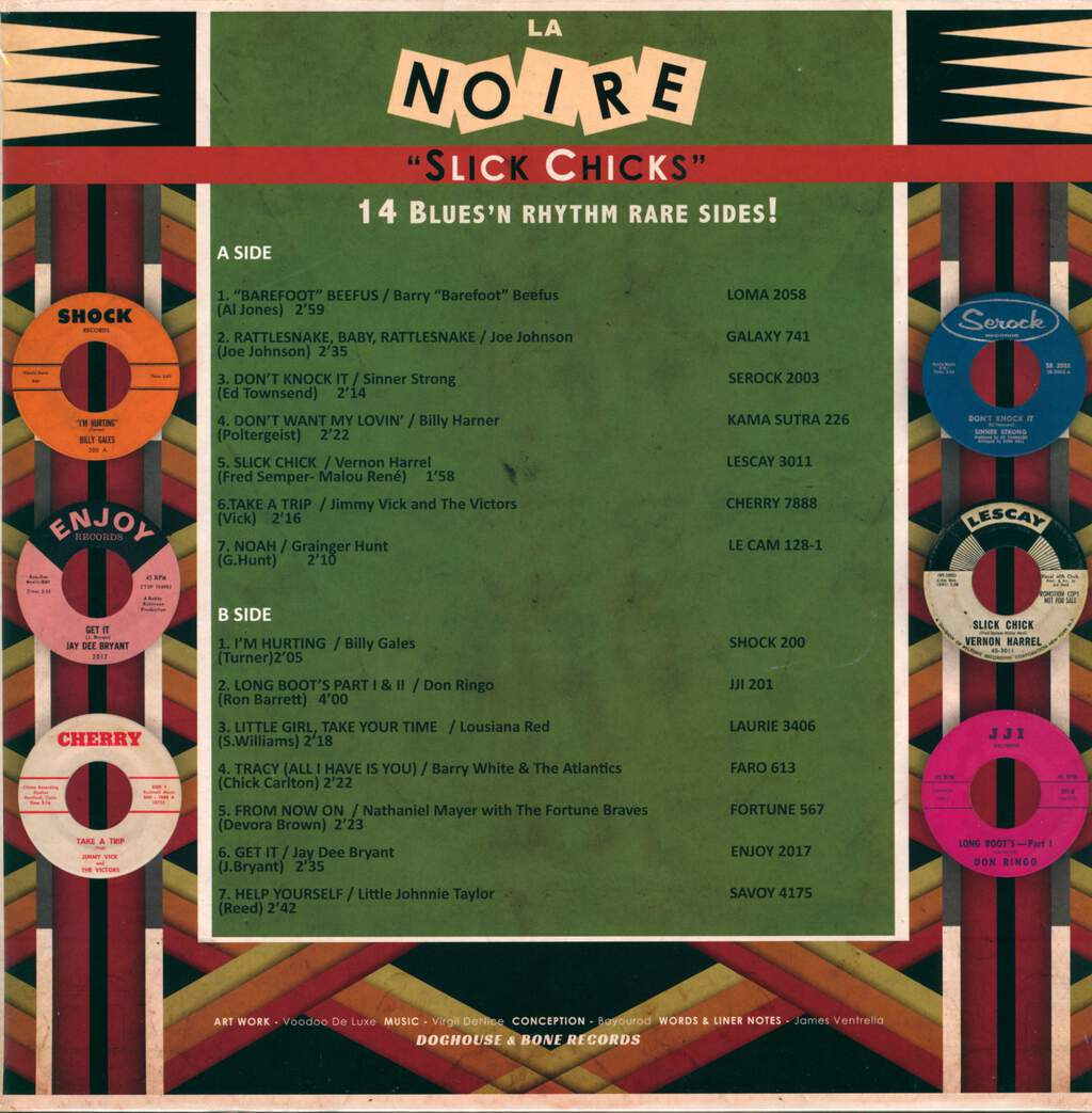 "Various: La Noire Vol.8 ""Slick Chicks"", LP (Vinyl)"