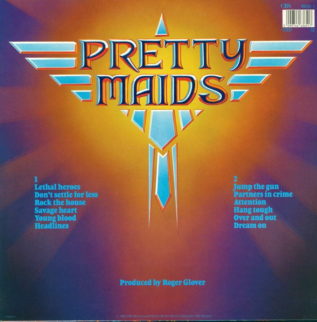 Pretty Maids: Jump The Gun, LP (Vinyl)