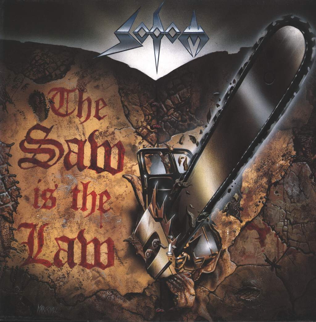 "Sodom: The Saw Is The Law, 12"" Maxi Single (Vinyl)"
