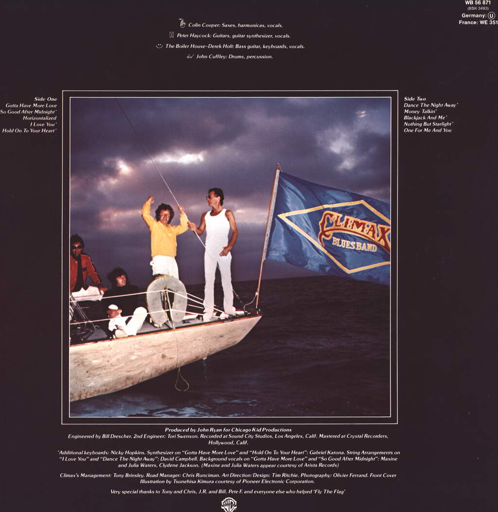 Climax Blues Band: Flying The Flag, LP (Vinyl)