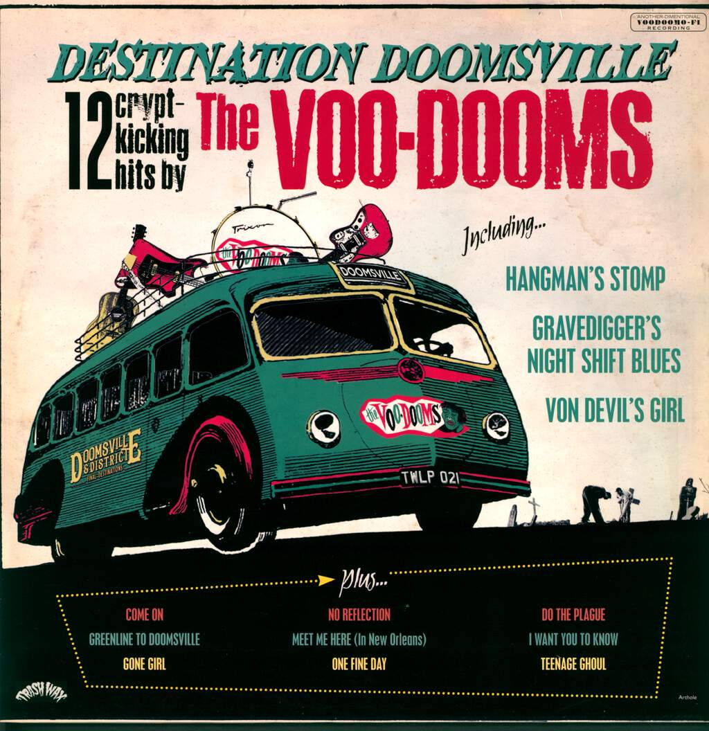 The Voo-Dooms: Destination Doomsville, LP (Vinyl)