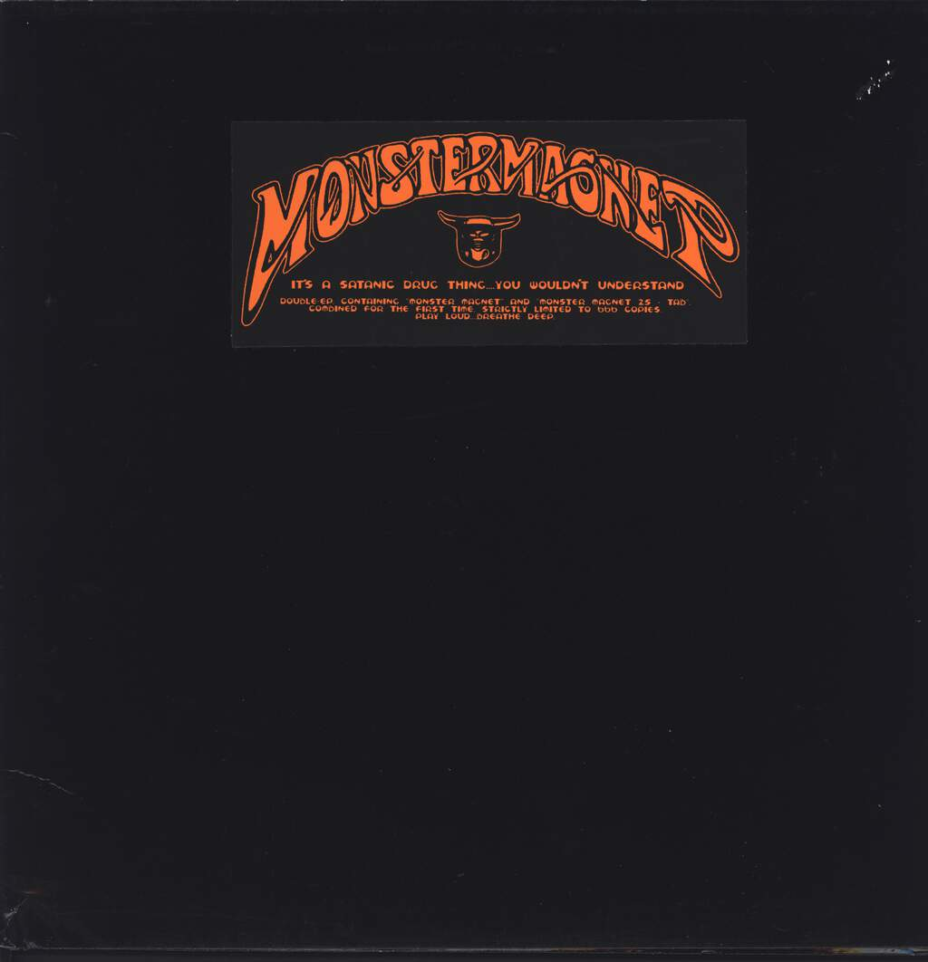 "Monster Magnet: It's A Satanic Drug Thing...You Wouldn't Understand, 12"" Maxi Single (Vinyl)"