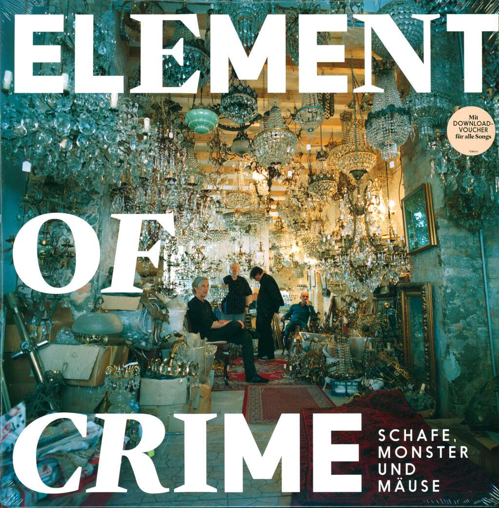 Element Of Crime: Schafe, Monster Und Mäuse, LP (Vinyl)