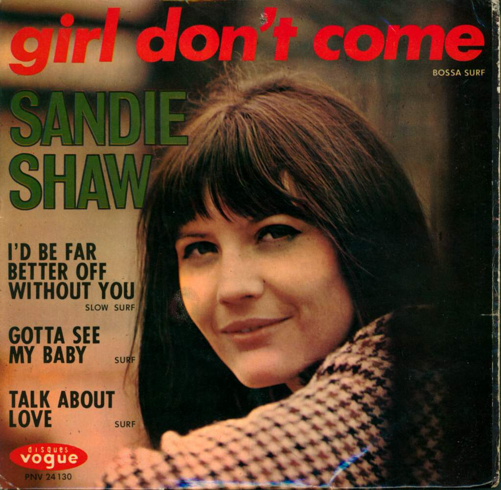 "Sandie Shaw: Girl Don't Come, 7"" Single (Vinyl)"