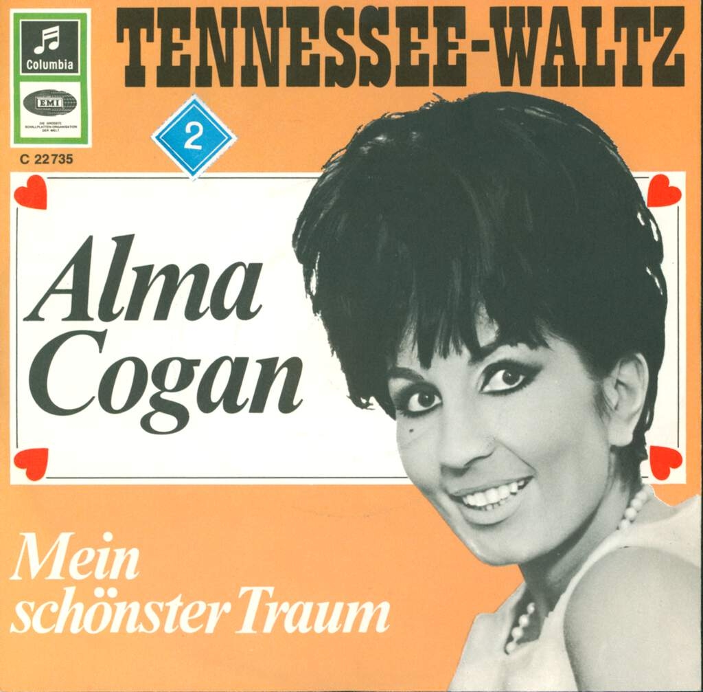 "Alma Cogan: Tennessee-Waltz, 7"" Single (Vinyl)"