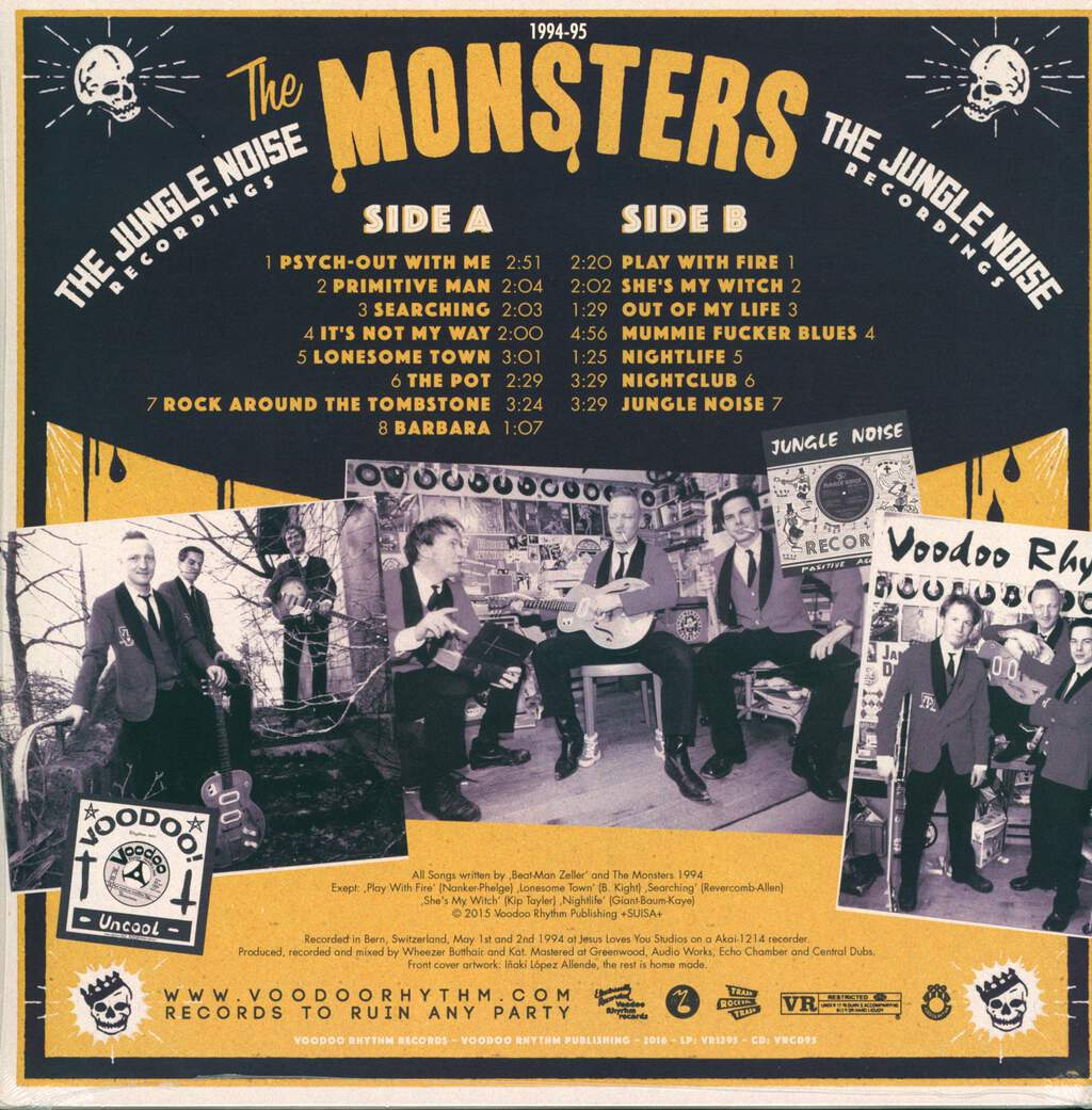 The Monsters: The Jungle Noise Recordings, LP (Vinyl)