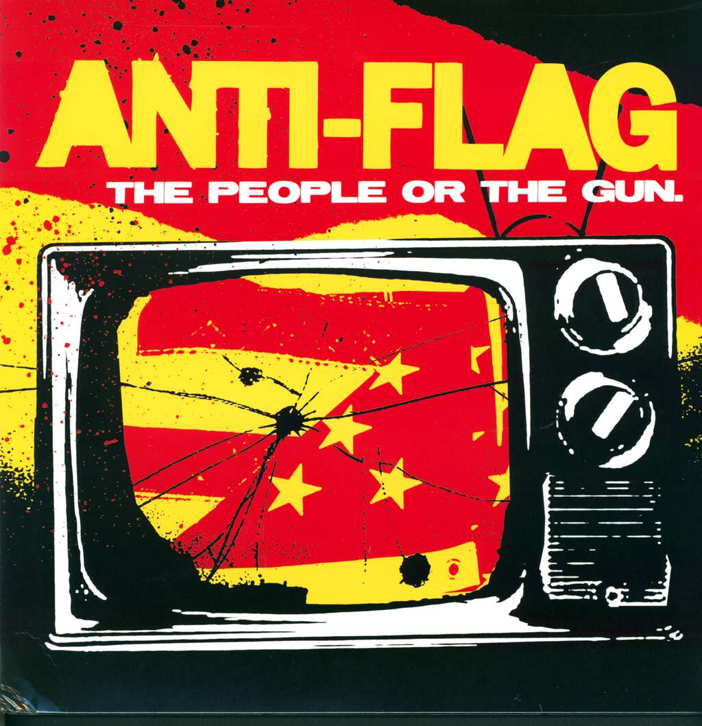 Anti-Flag: The People Or The Gun., LP (Vinyl)