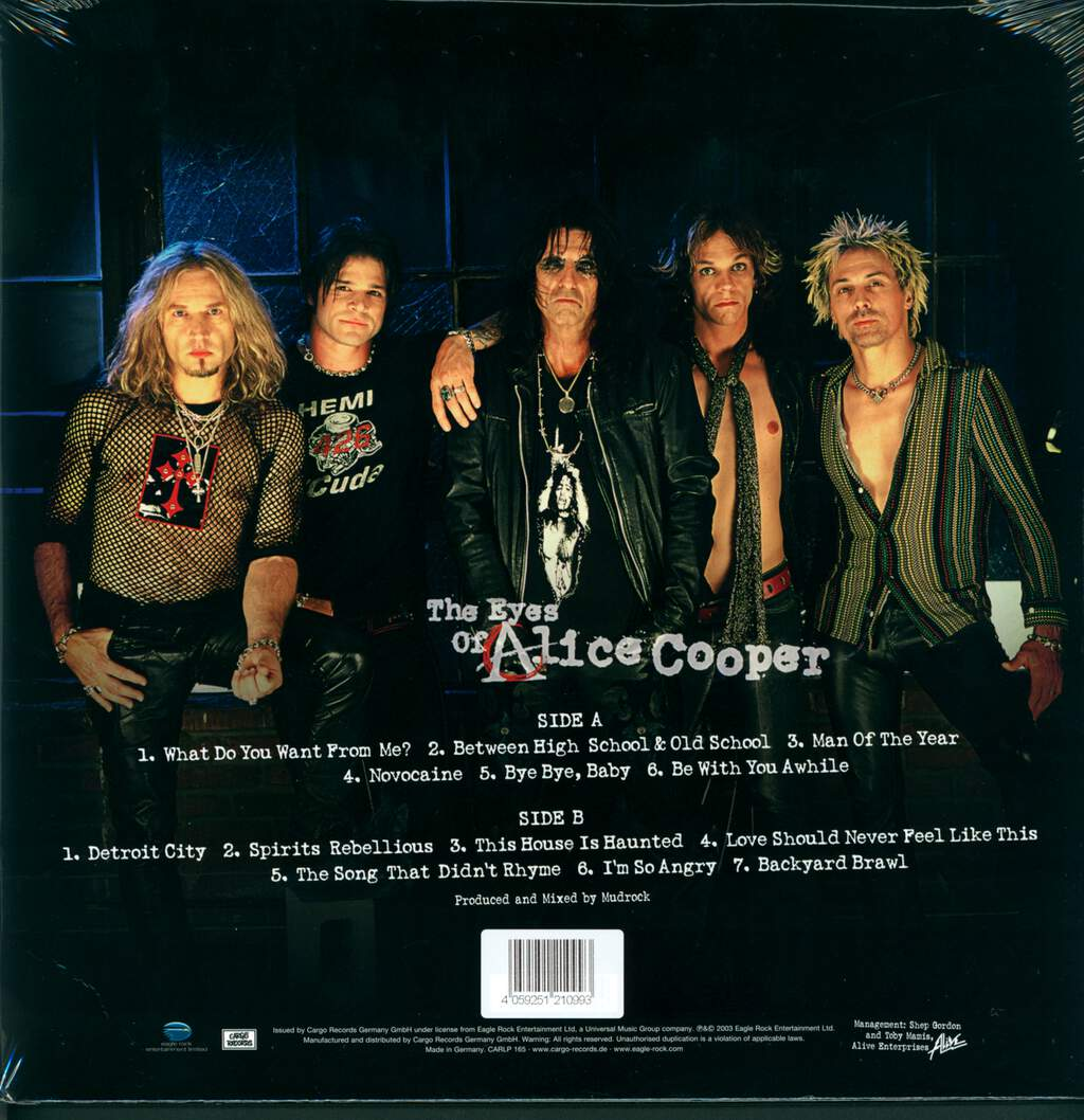 Alice Cooper: The Eyes Of Alice Cooper, LP (Vinyl)