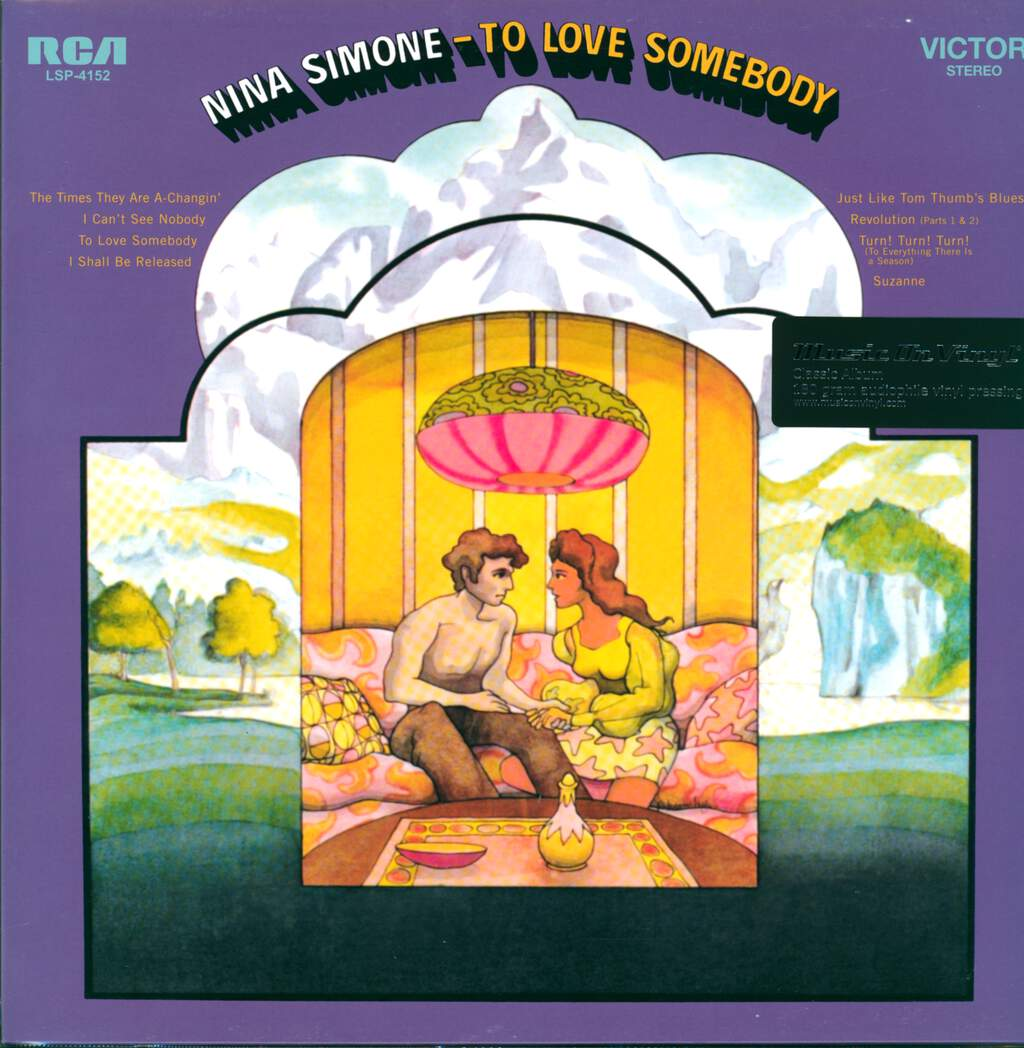 Nina Simone: To Love Somebody, LP (Vinyl)