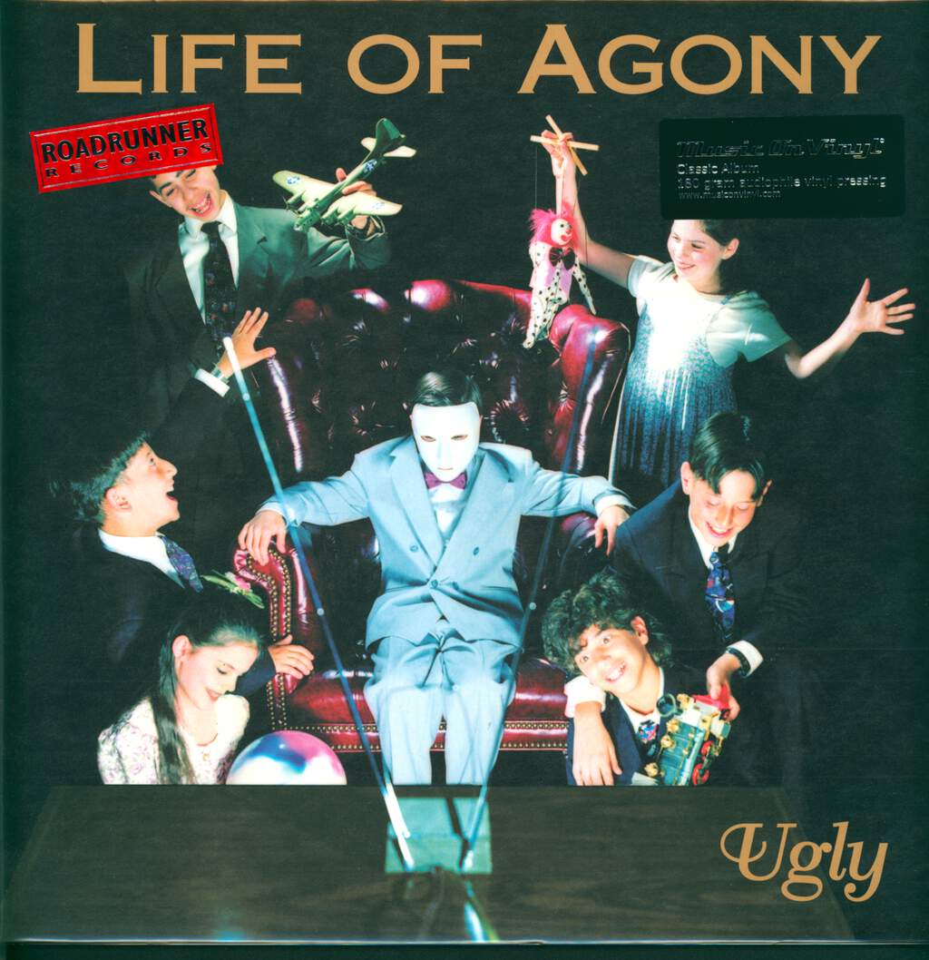 Life Of Agony: Ugly, LP (Vinyl)