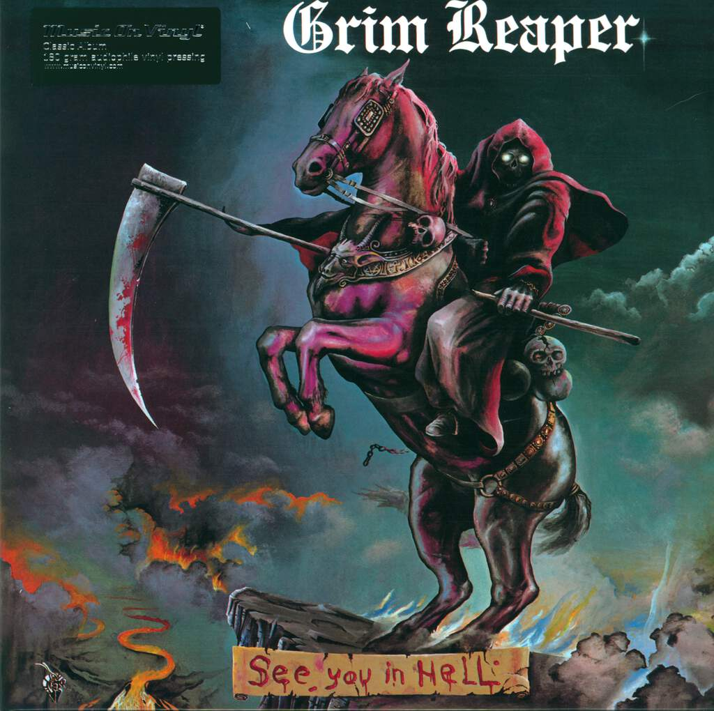 Grim Reaper: See You In Hell, LP (Vinyl)