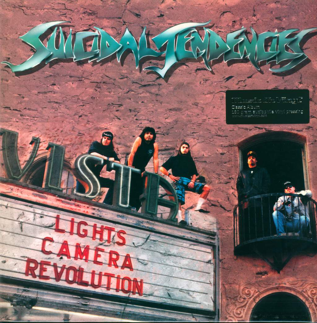 Suicidal Tendencies: Lights... Camera... Revolution, LP (Vinyl)