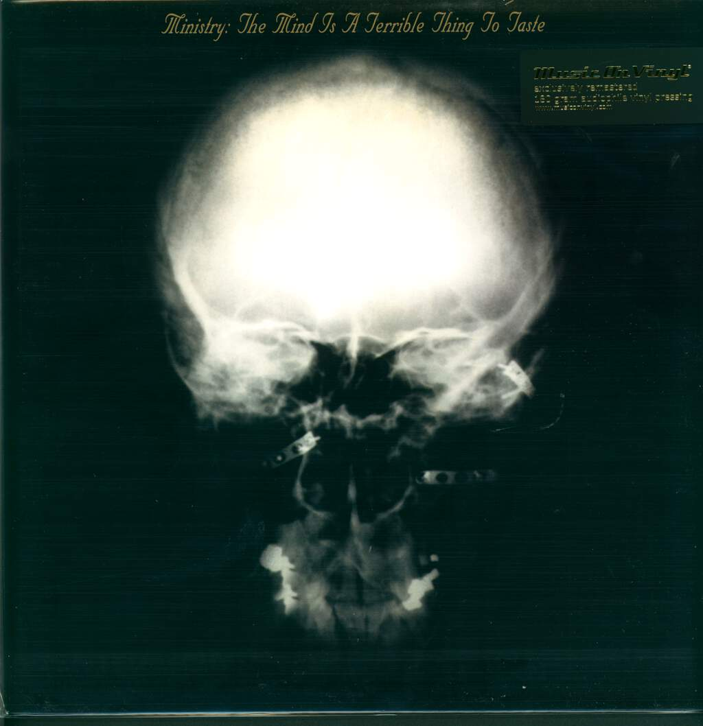 Ministry: The Mind Is A Terrible Thing To Taste, LP (Vinyl)