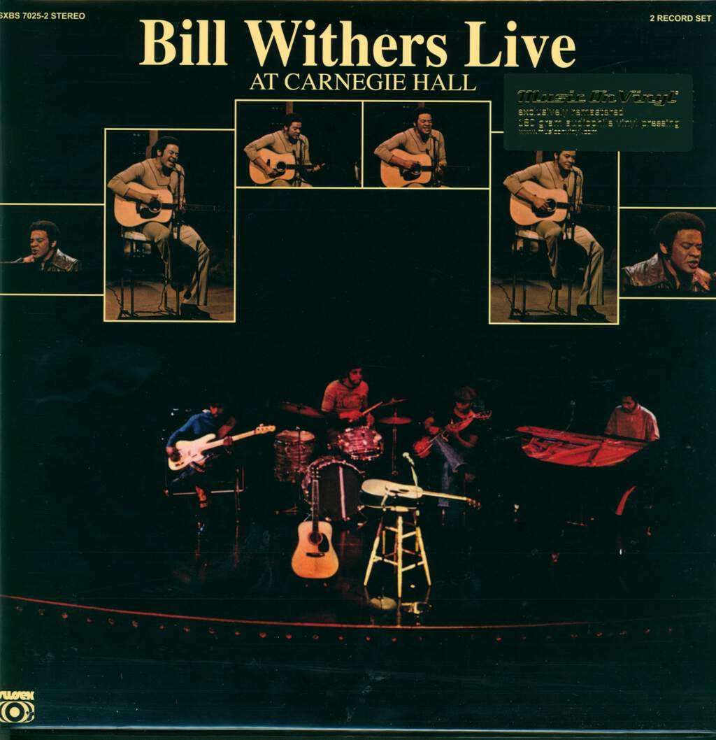 Bill Withers: Bill Withers Live At Carnegie Hall, 2×LP (Vinyl)